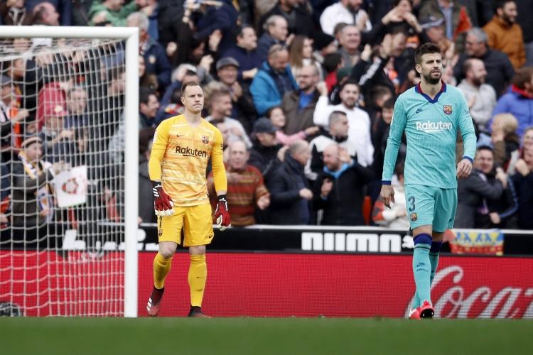 Валенсия - Барселона 2:0