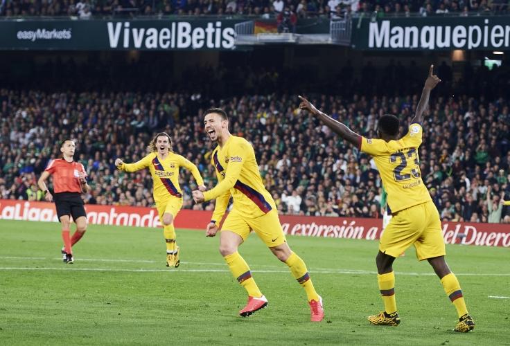 Бетис - Барселона 2:3