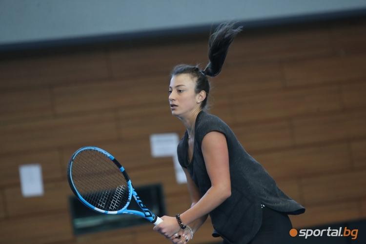 Последна тренировка на българските тенисистки преди участието във Фед Къп