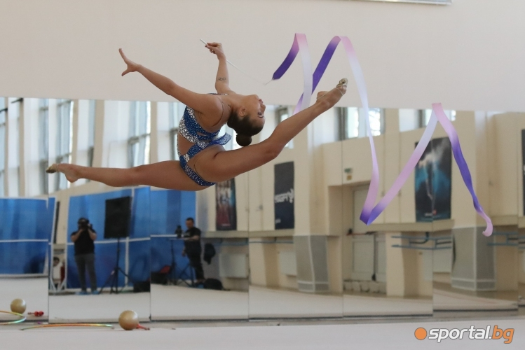 Художествена гимнастика - контролно