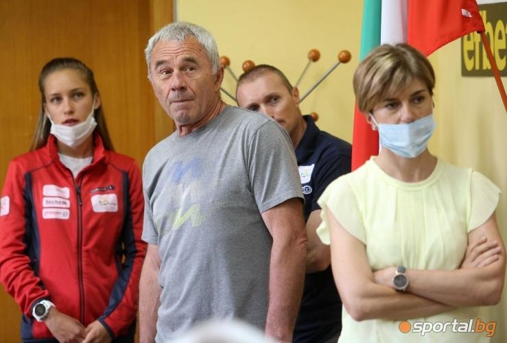 Наградиха  Милена Тодорова Цветан Цочев за спортист и треньор на месеца