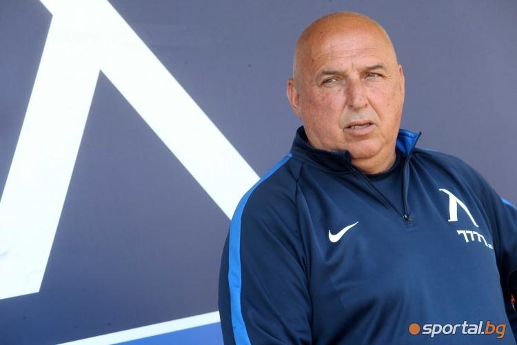 Старши треньорът на Левски Георги Тодоров говори преди гостуването на Берое