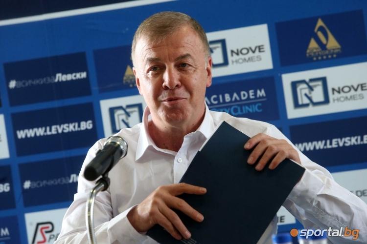 Наско Сираков разкрива бъдещето на Левски