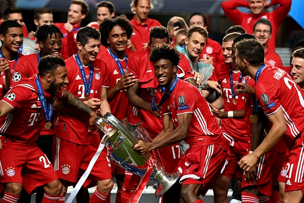 Радостта на баварците след триумфа в Лисабон