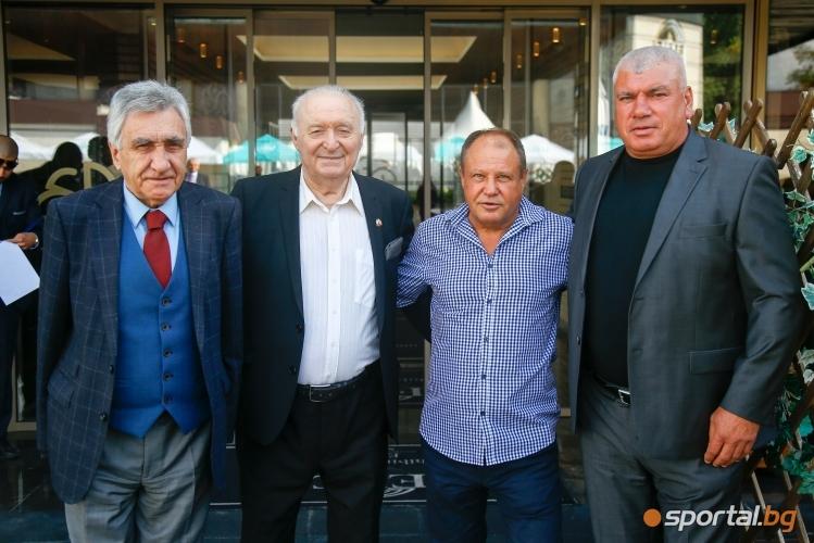Свилен Русинов, Петър Лесов, Ивайло Маринов, Михаил Таков, Даниел Петров