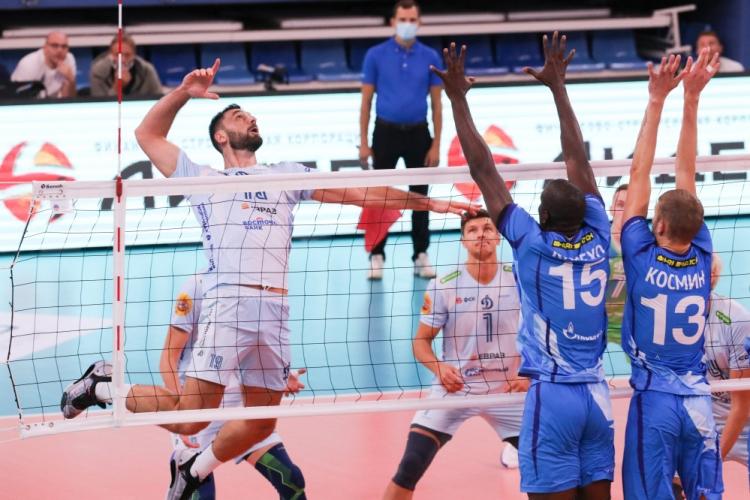 Цветан Соколов с 14 точки, Динамо (Москва) отнесе Зенит (Санкт Петербург)