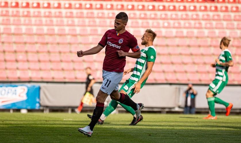 Мартин Минчев с дебютен гол за Спарта (Прага)