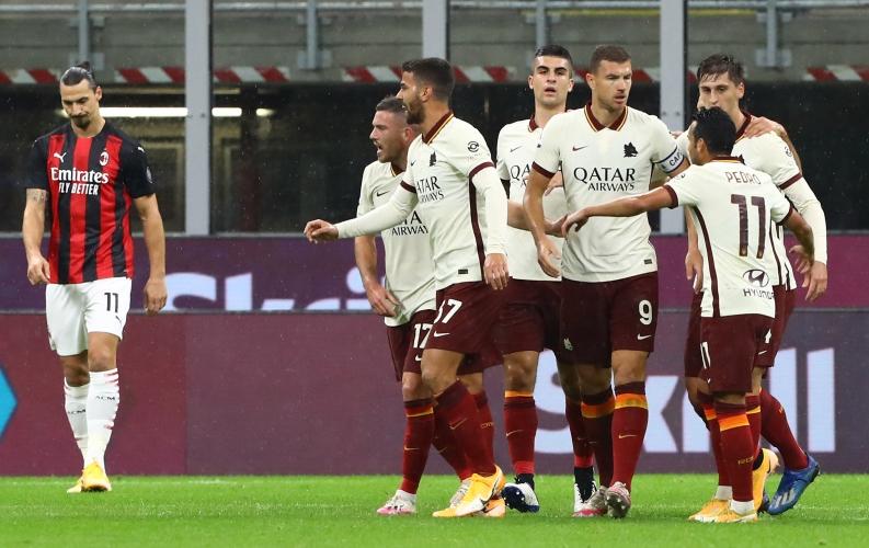 Милан - Рома 3:3