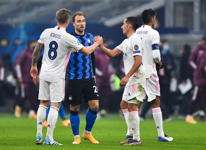 Интер - Реал Мадрид 0:2