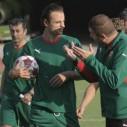 Първа тренировка на националите преди мача с Черна гора