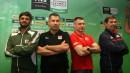 Радо Стойчев и останалите треньори преди Олимпийската квалификация в София