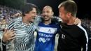 Радостта на Левски след историческа първа победа над Лудогорец