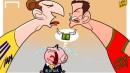 Световните квалификации в карикатури