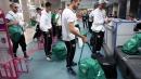 Националният отбор по футбол замина за Норвегия