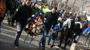 Ръководство, футболисти и фенове на Левски почетоха паметта на Апостола