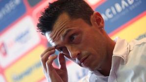 Новият треньор на ЦСКА Христо Янев бе представен официално днес