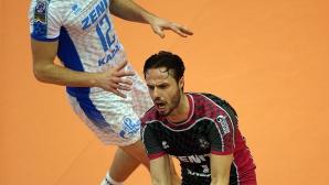 Теодор Салпаров и Зенит отнесоха КНАК в Шампионската лига
