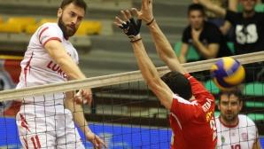 Полуфинал №1: ЦСКА - Нефтохимик 2010 0:3