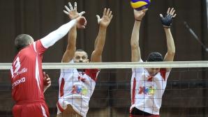 Полуфинал №2: ЦСКА - Нефтохимик 2010 2:3