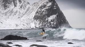 Сърф в ледени води