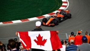 Тренировки за Гран При на Канада 2017