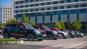 Пълната гама на моделите MINI John Cooper Works бяха представени в България