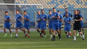 Футболистите на Сутиеска тренират на Герена