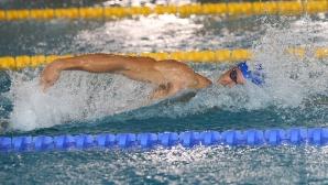 Александър Николов стана първият българин под 50 сек на 100 м св. стил