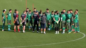 НО по футбол тренират в Бояна