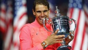 Рафа Надал е новият крал на US Open!