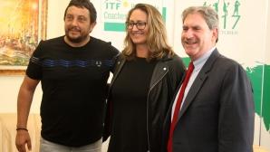 Мери Пиърс и  Дейвид Хагерти вече са в България за Световната треньорска конференция