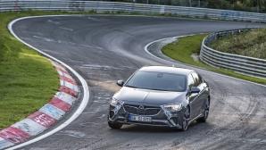 """Новият Opel Insignia GSi завладява Северната отсечка на """"Нюрбургринг"""" (Видео)"""