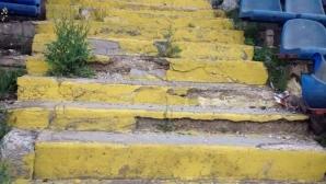 """Разрухата на стадион """"Спартак"""" във Варна"""