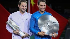 Федерер срази Надал на финала в Шанхай