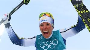 Шарлоте Кала взе първото олимпийско злато в ПьонгЧан