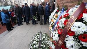 Стотици изпратиха бившия защитник на България Георги Марков