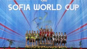 Официално награждаване на финалистките от Sofia World Cup