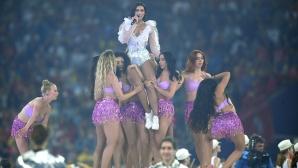 Дуа Липа подгря публиката преди големия финал