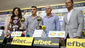 Наградиха Клаудио Кешерю за най-добър футболист и голмайстор за сезон 2017-2018