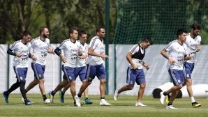 Аржентина вече тренира в Русия