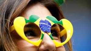 Феновете на Бразилия срещу Коста Рика