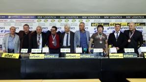 Пресконференция след пълния успех на ЕВРОПЕЙСКОТО ПЪРВЕНСТВО ЗА МАЙСТОРИ