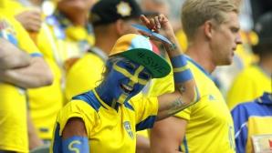Феновете на Швеция срещу Швейцария