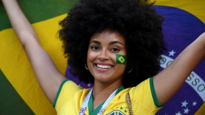 Феновете на Бразилия срещу Белгия
