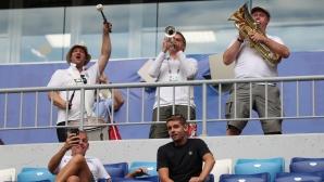 Феновете на Англия срещу Швеция