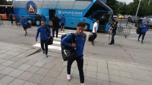 Футболистите на Левски заминаха за Лихтенщайн