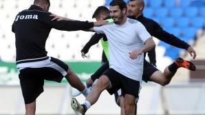 Славия направи тренировка в Хелзинки преди мача с Илвес