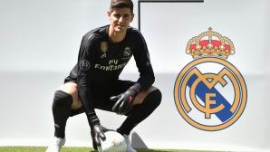 Реал Мадрид представи Куртоа