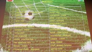 Жребий за 1/16 финали за Купа България