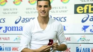 Кирил Десподов бе избран за футболист на месец Август